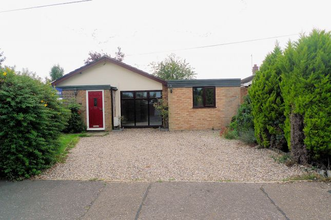Thumbnail Detached bungalow for sale in Rosemary Road, Blofield Heath, Norwich