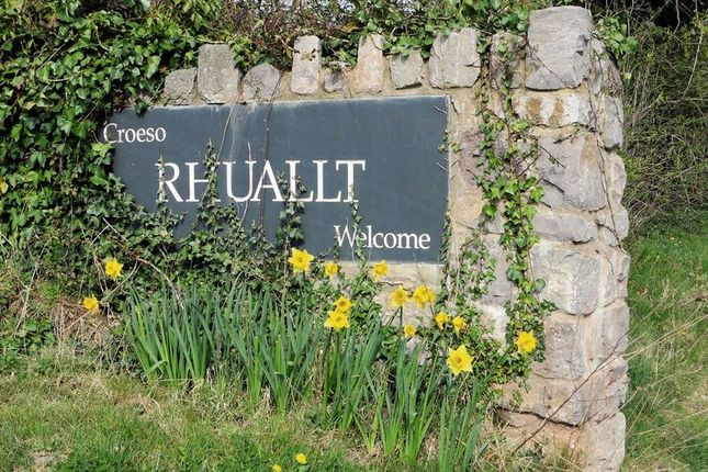 Entrance of Holywell Road, Rhuallt, St. Asaph LL17