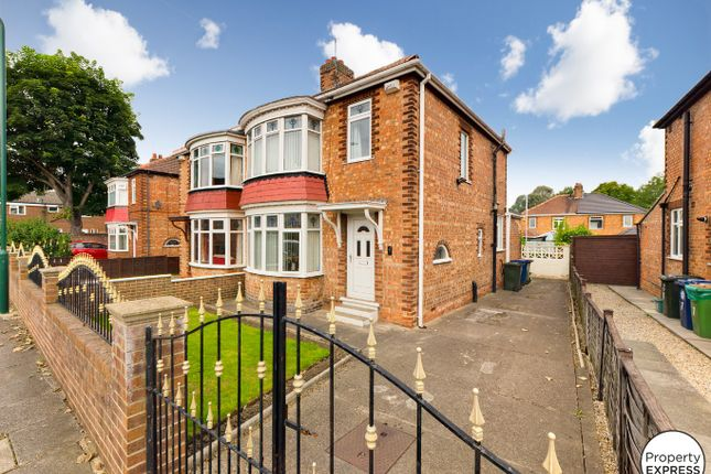 3 bed semi-detached house for sale in Windsor Road, Middlesbrough TS6