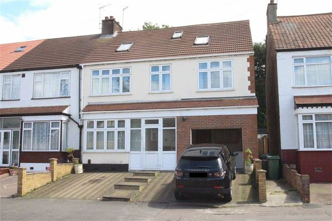 Thumbnail End terrace house for sale in Gaynes Hill Road, Woodford, Essex
