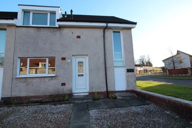 Thumbnail End terrace house to rent in Newmills, Tullibody, Alloa