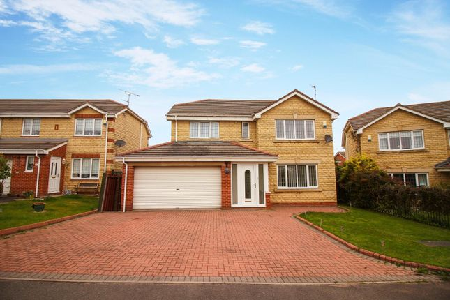 Thumbnail Detached house for sale in Chase Meadows, Blyth