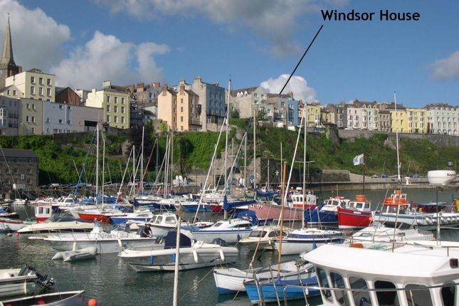 Thumbnail Terraced house for sale in Windsor House, 4, Crackwell Street, Tenby