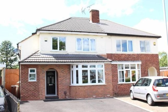 Thumbnail Semi-detached house to rent in York Road, Wolverhampton, West Midlands