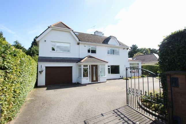 Thumbnail Detached house for sale in Overdale Road, Willaston, Wirral