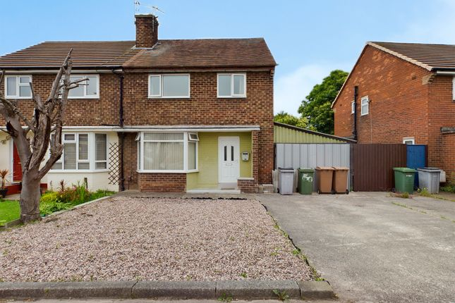 Thumbnail Semi-detached house for sale in Hoylake Road, Moreton, Wirral