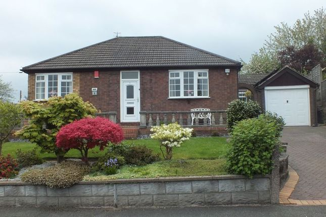 Thumbnail Bungalow for sale in Newfold Crescent, Brown Edge, Stoke-On-Trent