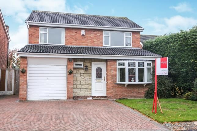 Thumbnail Detached house for sale in Dornoch Court, Holmes Chapel, Crewe, Cheshire
