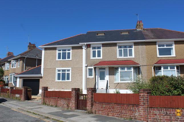 Thumbnail Semi-detached house for sale in Segrave Road, Milehouse, Plymouth