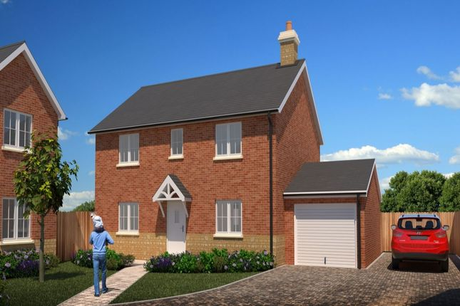 Thumbnail Detached house for sale in Vardroe Way, Tibberton, Droitwich