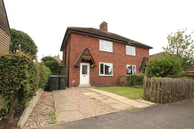 Thumbnail Semi-detached house to rent in West End Avenue, Appleton Roebuck, York