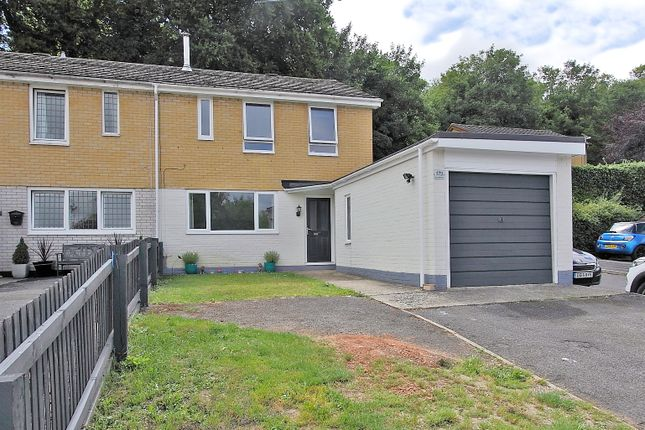 Thumbnail End terrace house for sale in Bury Hill Close, Anna Valley, Andover