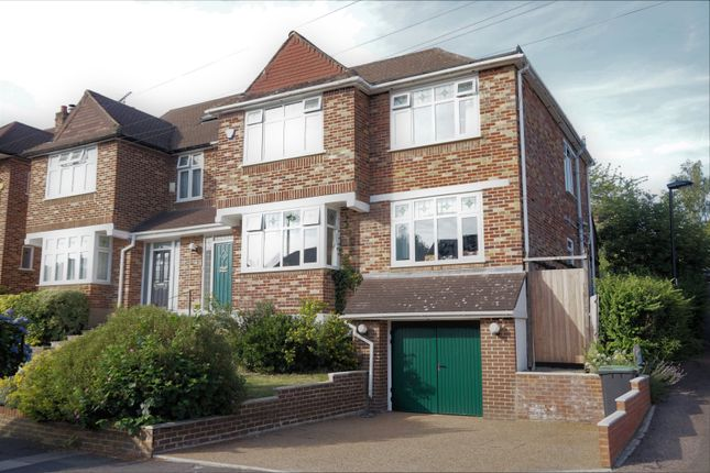 Thumbnail Semi-detached house for sale in Slades Rise, Enfield