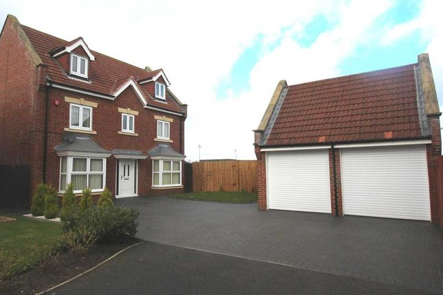 Thumbnail Detached house for sale in Latton Close, Southfield Gardens, Cramlington