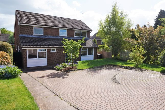 Thumbnail Detached house for sale in High Fawr Close, Oswestry