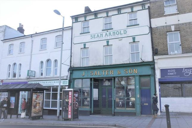 Thumbnail Flat for sale in High Street, Aldershot