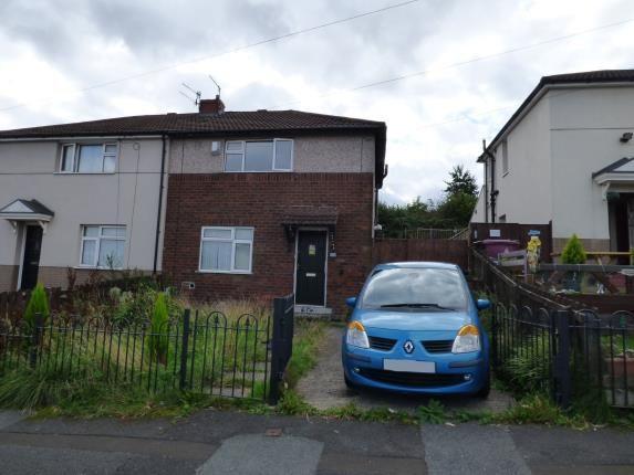 Front of Elgin Crescent, Burnley, Lancashire BB11