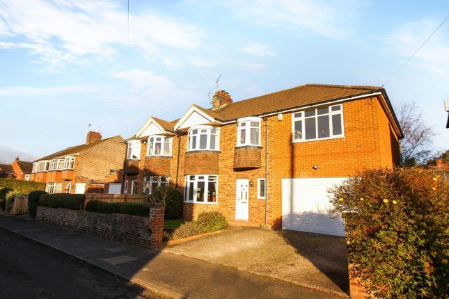Thumbnail Semi-detached house to rent in The Crossway, Loansdean, Morpeth