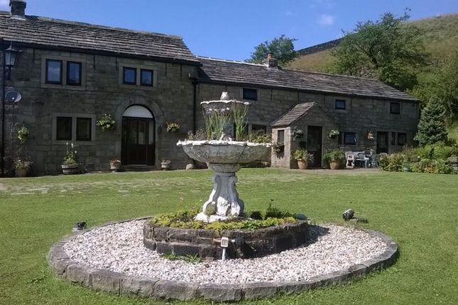 Thumbnail Detached house for sale in Waterstalls Farm, Bottomley Road, Walsden, Todmorden