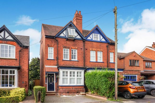 Thumbnail Semi-detached house for sale in Burton Old Road East, Lichfield