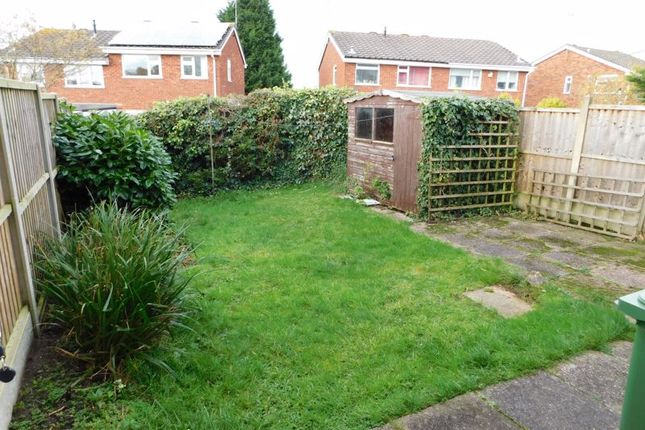 Rear Garden of Greylarch Lane, Wildwood, Stafford. ST17