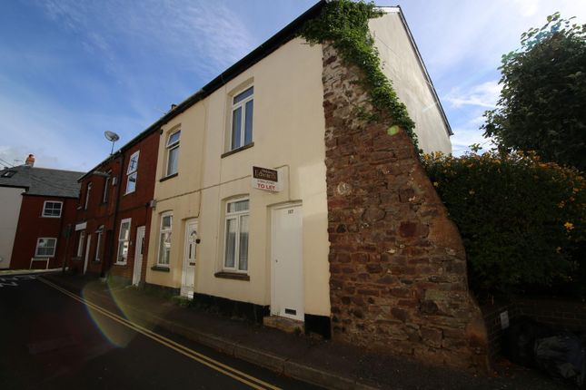 Thumbnail End terrace house to rent in Barrington Street, Tiverton