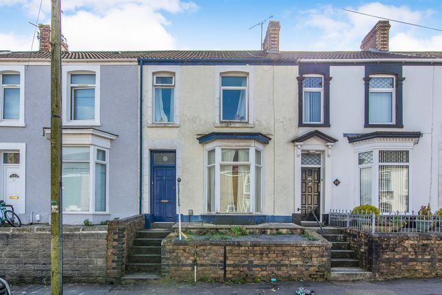 Thumbnail Terraced house for sale in Marlborough Road, Brynmill, Swansea