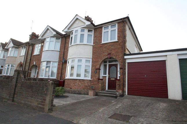 Thumbnail Semi-detached house to rent in Pretyman Road, Ipswich