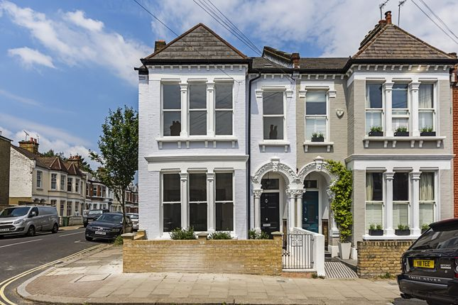 Thumbnail End terrace house to rent in Voltaire Road, London
