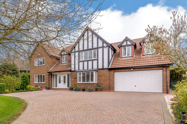 Thumbnail Detached house for sale in The Gables, Station Road, Ludborough, Grimsby