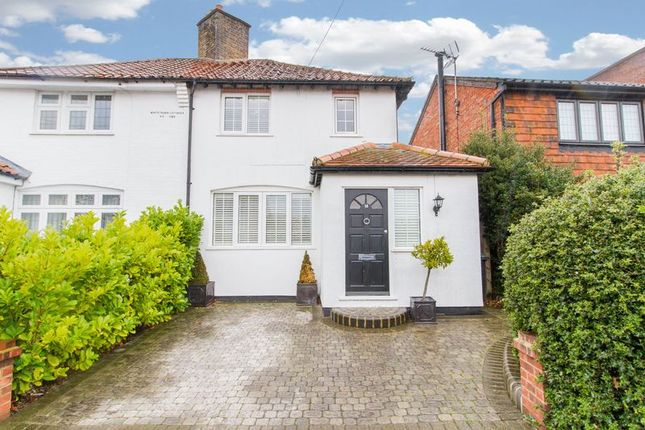 Thumbnail Semi-detached house for sale in Wroths Path, Loughton