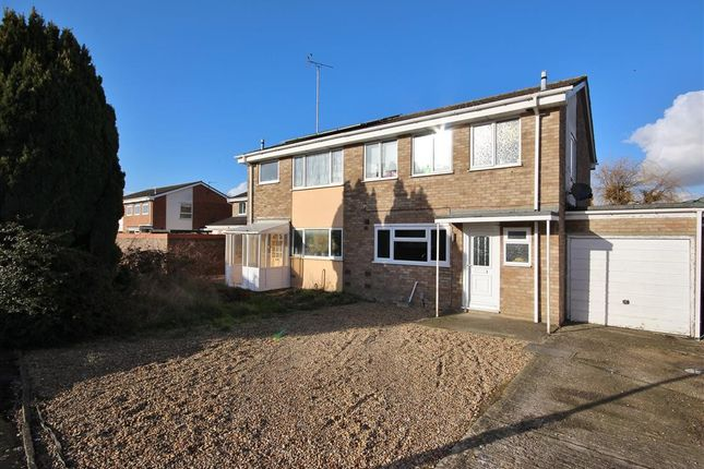 Thumbnail Semi-detached house for sale in Cherbury Green, Grove, Wantage