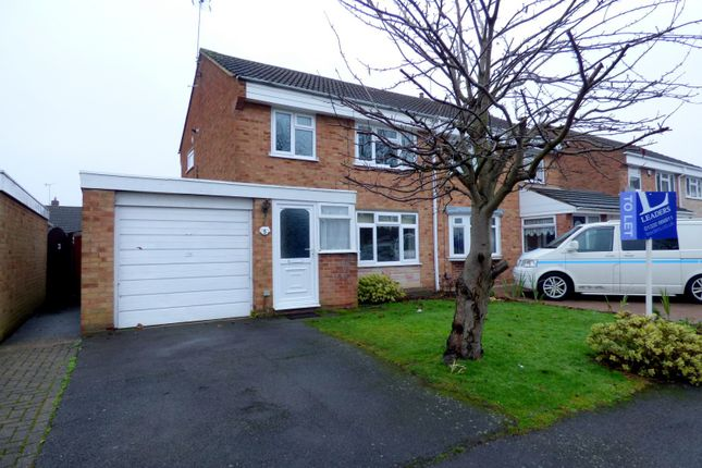 Thumbnail Semi-detached house to rent in Tulla Close, Stenson Fields, Derby