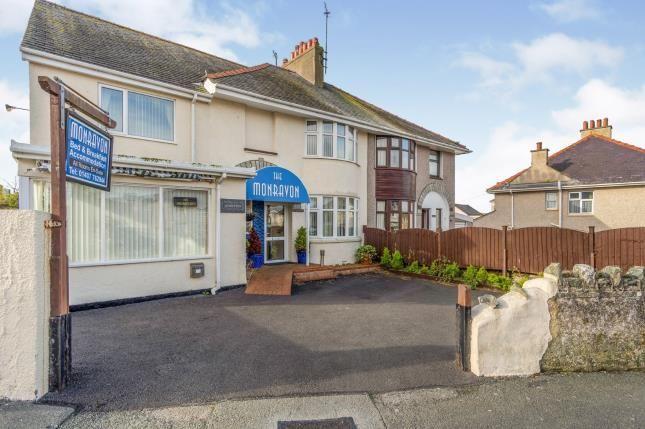 Thumbnail Semi-detached house for sale in Porth Y Felin Road, Holyhead, Sir Ynys Mon