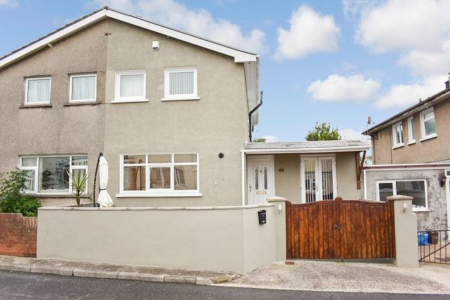 Thumbnail Semi-detached house for sale in Heol Fach, Pencoed, Bridgend .