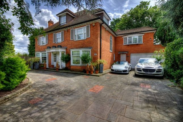 Thumbnail Detached house for sale in Edgecoombe Close, Coombe, Kingston Upon Thames