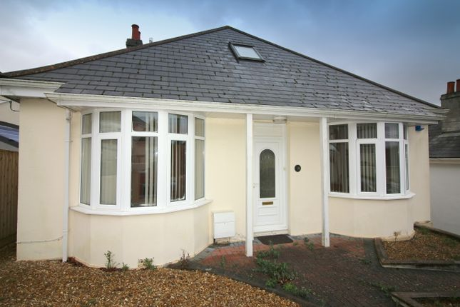 Thumbnail Detached bungalow for sale in Grosvenor Road, Crownhill, Plymouth
