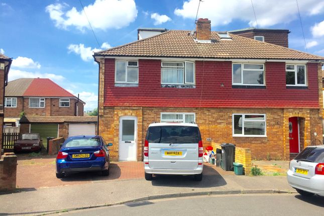 4 bed semi-detached house for sale in The Gardens, Bedfont
