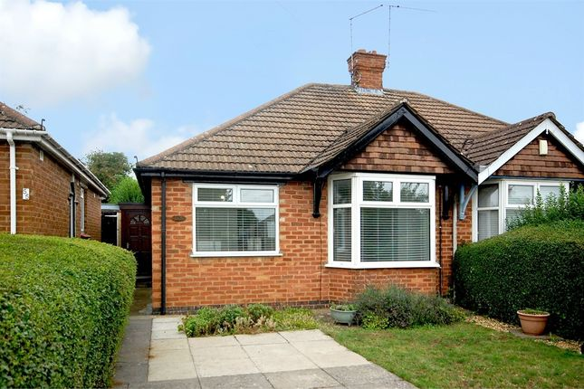 Thumbnail Semi-detached bungalow to rent in Knights Lane, Kingsthorpe Village, Northampton