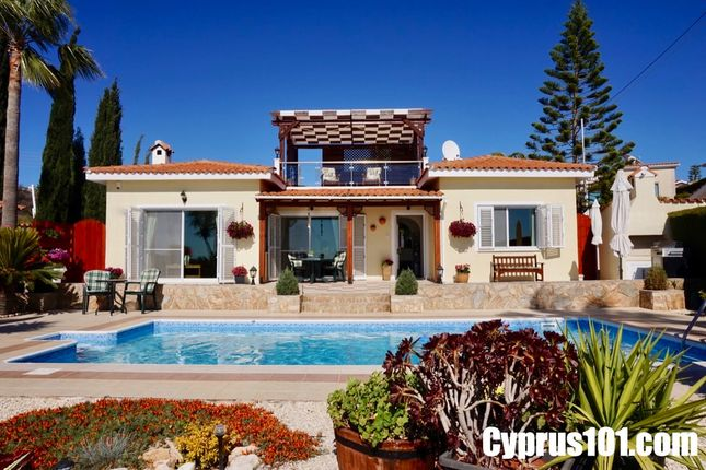 Bungalow for sale in Custom Built Bungalow With Sea Views, Sea Caves, Paphos, Cyprus