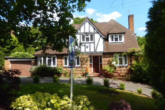 Thumbnail Detached house to rent in Copse Wood Way, Northwood