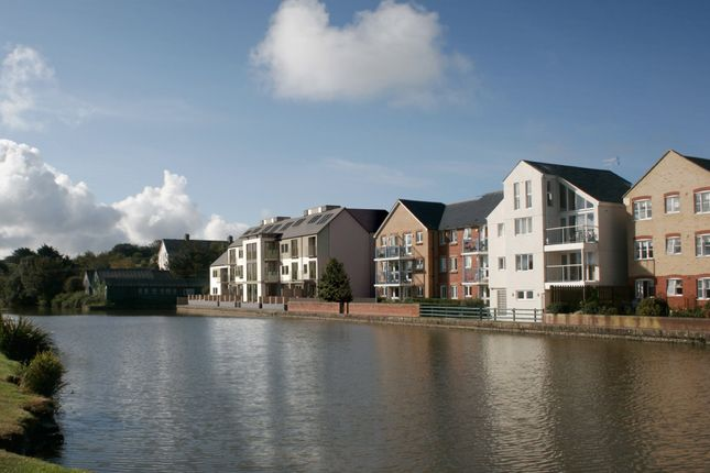 Thumbnail Flat for sale in Canalside, Higher Wharf, Bude
