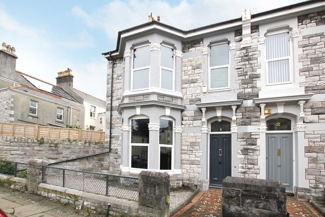 Thumbnail End terrace house to rent in Evelyn Place, Plymouth