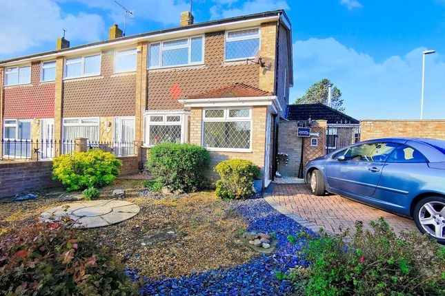 Thumbnail End terrace house for sale in Kipling Avenue, Goring-By-Sea, Worthing