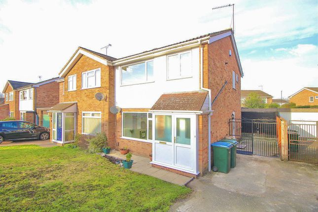 Thumbnail Semi-detached house for sale in Elmore Close, Binley, Coventry