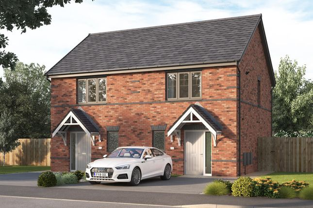 """Thumbnail Semi-detached house for sale in """"The Beckford """" at Tom Blower Close, Wollaton, Nottingham"""
