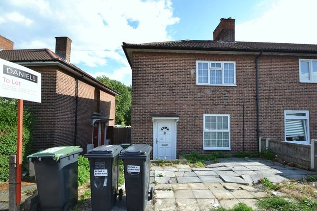 Thumbnail End terrace house to rent in Launcelot Road, Downham, Bromley