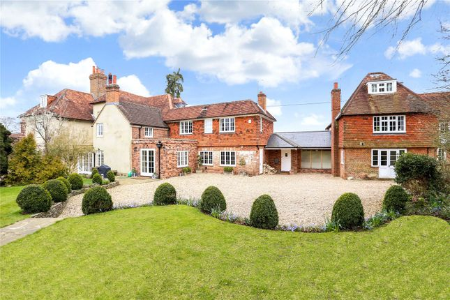 Thumbnail Detached house for sale in Dippenhall Street, Crondall, Farnham