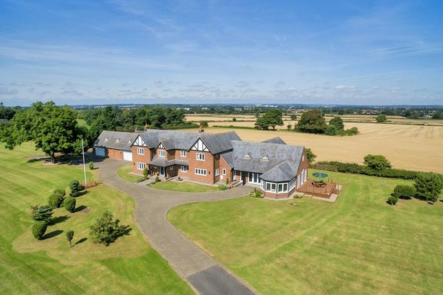 Thumbnail Country house for sale in The Hill, Swarkestone Road, Chellaston, Derby