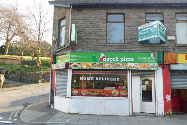 Thumbnail Restaurant/cafe to let in De Winton Street, Tonypandy